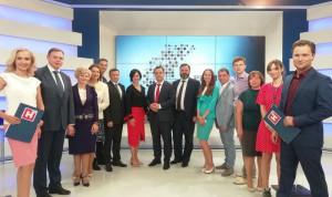 Участники «Команды правительства Нижегородской области» защитили свои проекты на ток-шоу