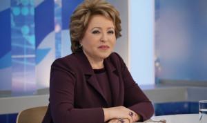 Валентина Матвиенко предложила создать единые профстандарты для муниципальных служащих