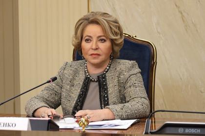 Валентина Матвиенко: Для успешного развития страны нужно больше женщин вовласти